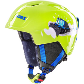UVEX Manic Casque Enfant, lime caterpillar